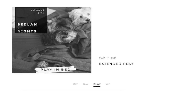 EXTENDED PLAY BEDLAM STORE