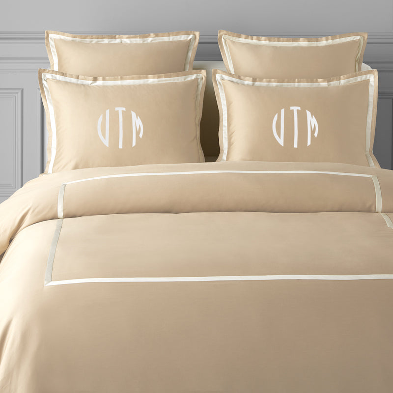 monogrammed bedding India