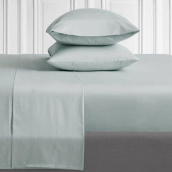 METALLIC BLUE - 800 THREAD COUNT BEDDING SET