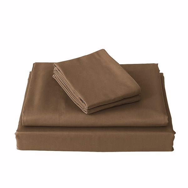 Metallic bronze bed sheets, bronze bedding set