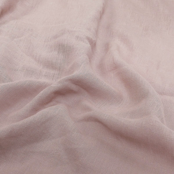 CHAMPAGNE BLUSH LINEN BEDDING SET