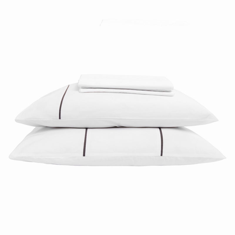 designer bedding India white