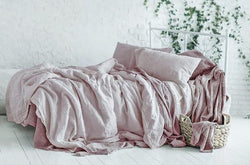 Blush Linen Duvet Covers India
