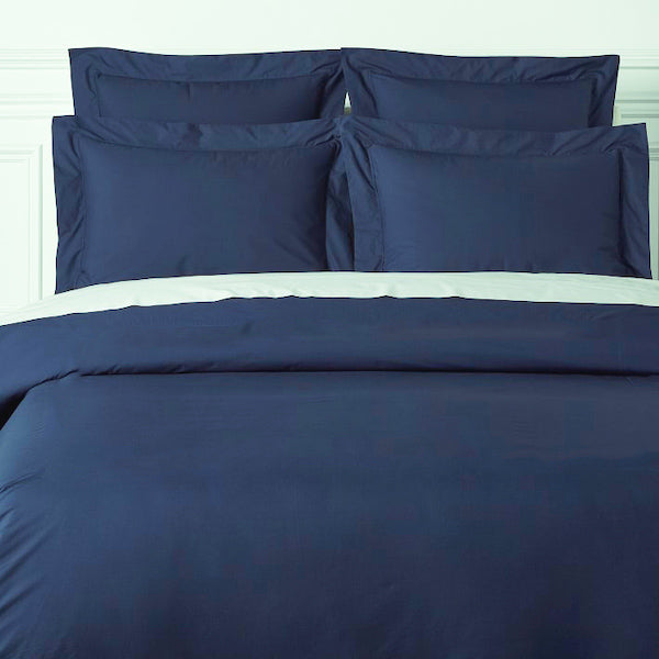 INK BLUE-  300 THREAD COUNT BEDSHEET SET