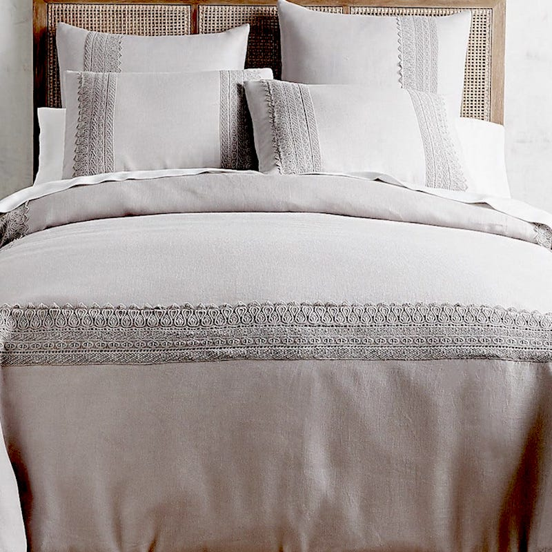 flax linen bed sheets set