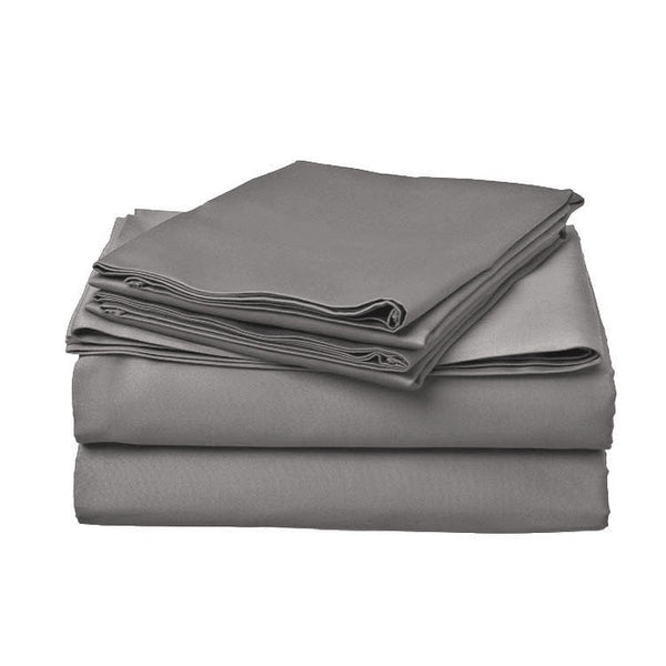 SPACE GREY - 800 THREAD COUNT BEDSHEET SET