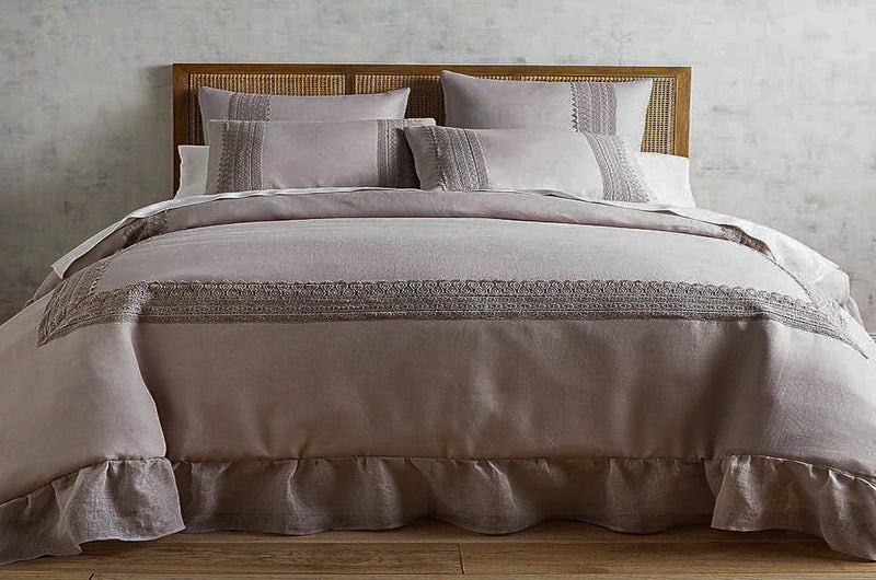 pure flax linen bed sheets