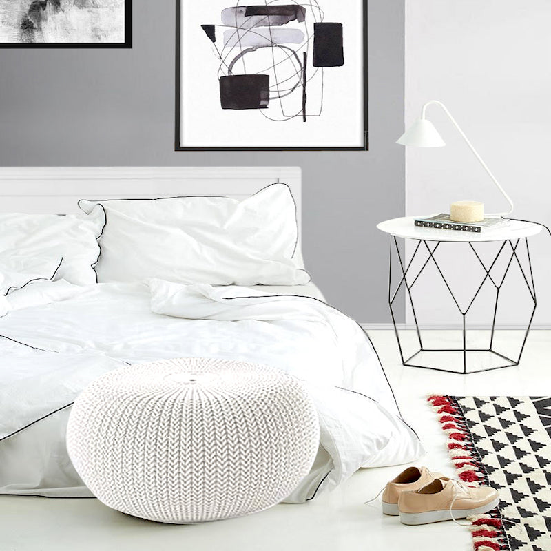 white bed sheets online india