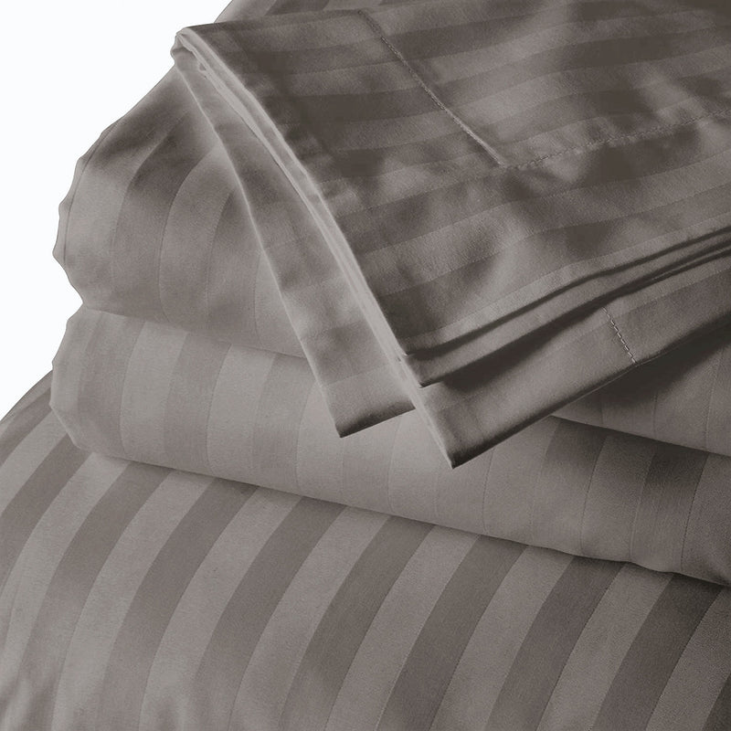 self stripe bed sheets India