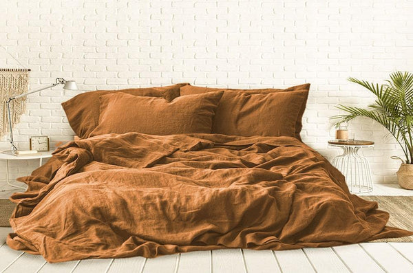 Cinnamon duvet cover online India
