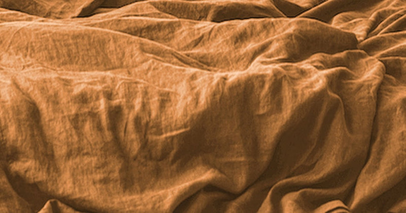 Cinnamon - Stone-Washed Pure Linen Sheets