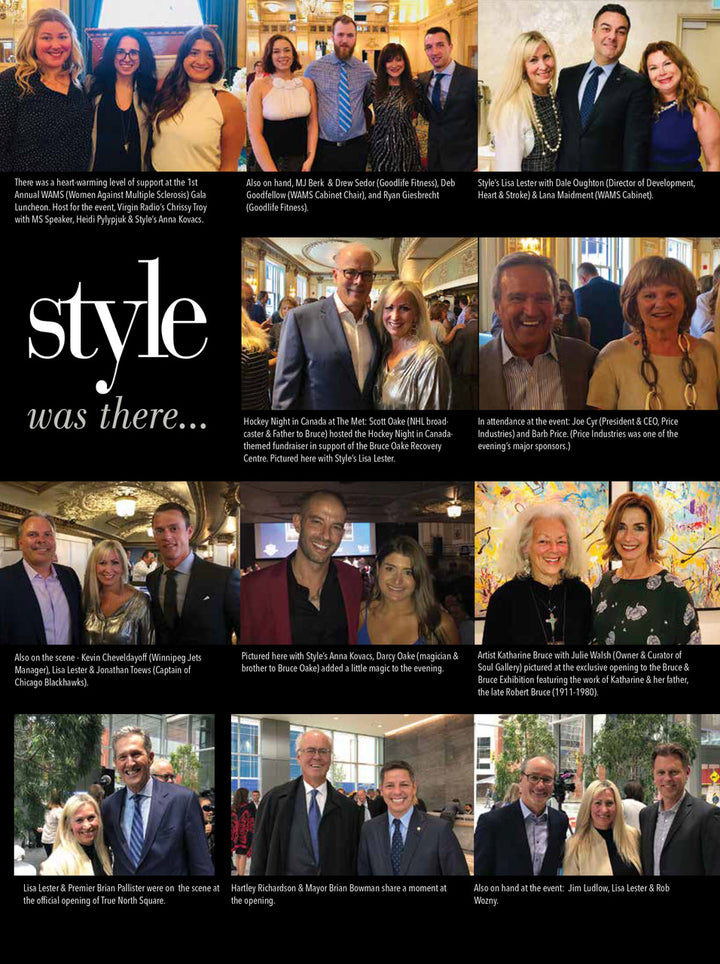STYLE WAS THERE - EXCLUSIVE OPENING OF BRUCE & BRUCE NOVEMBER 2018