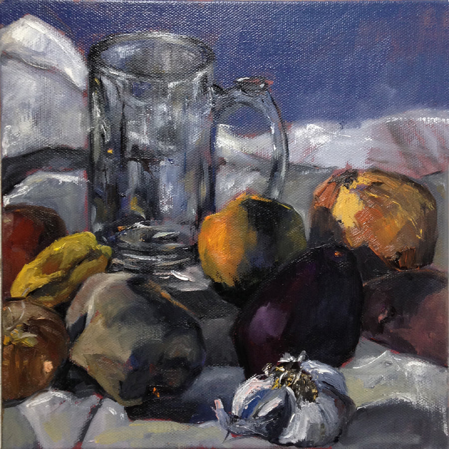 Beer Jar with Fruit