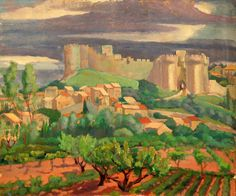 South of France (Orchard)  C. 1935-39
