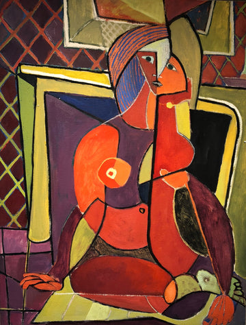 Picasso's Woman  C. 1948
