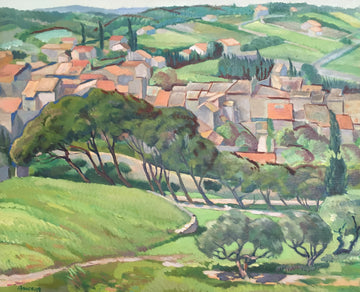 Village in Provence  C. 1935-39
