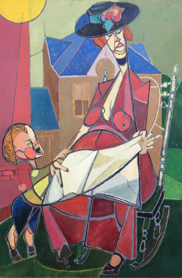 Mother and Child Reading <br>(RB-304)