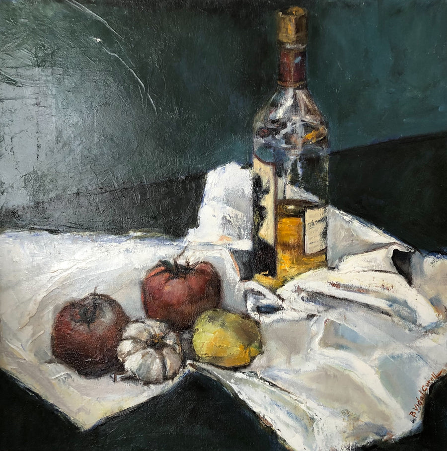 Still Life with a White Cloth