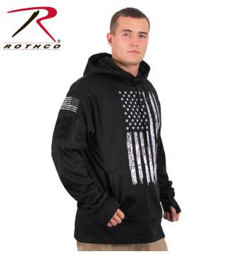 USA flag conceal and carry hoodie