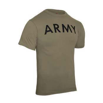 AR 670-1 Coyote Brown Army Physical Training T-Shirt