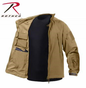 Rothco Tactical Concealed Carry Soft Shell Jacket Coyote brown