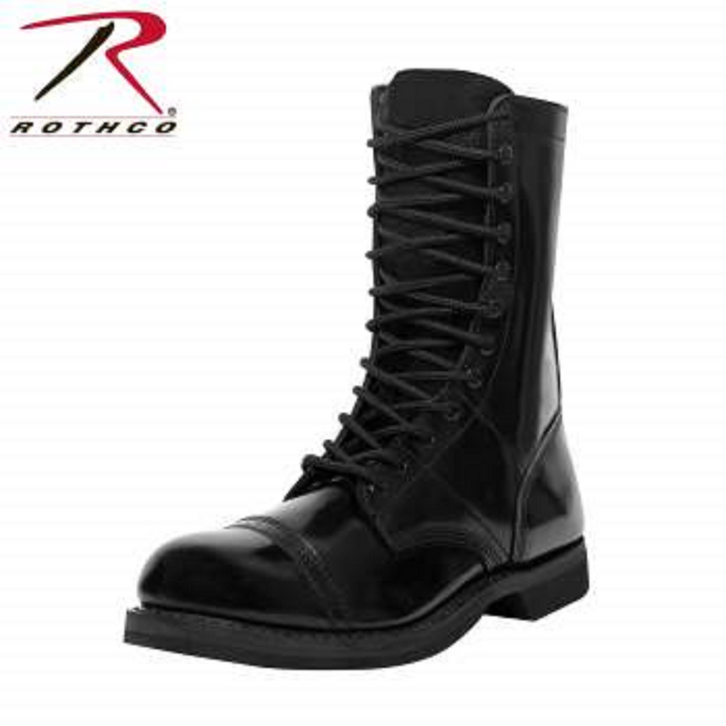 rotcho jump boot, Leather rothco jump boot, leather jump boot 10in, leather jump boot.