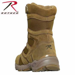 "Load image into Gallery viewer, Rothco Forced Entry 8"" Deployment Boots With Side Zipper Dessert Sand"