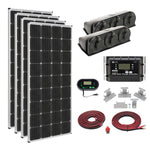 Load image into Gallery viewer, ZAMP SOLAR off grid solar cabin kit/roof mount 680 watt