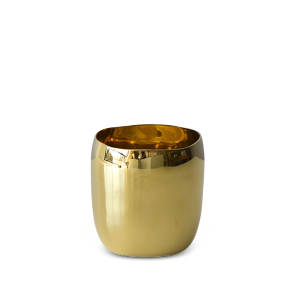 Tina Frey Designs - Brass Square Vessel 9cm