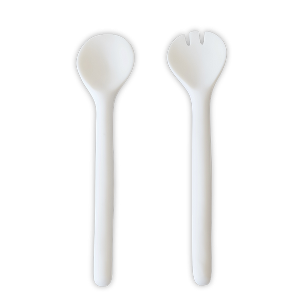 Tina Frey Designs - Large Salad Servers - White