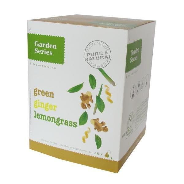 Garden Series Green Ginger Lemongrass - Box 48st - Garden Series - Koffiestore.nl