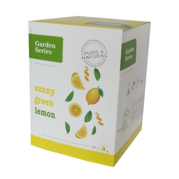 Garden Series Sunny Green Lemon - Box 48st - Garden Series - Koffiestore.nl