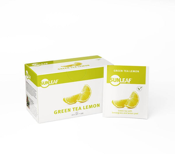 Green Tea Lemon - Sunleaf Originals - Koffiestore.nl