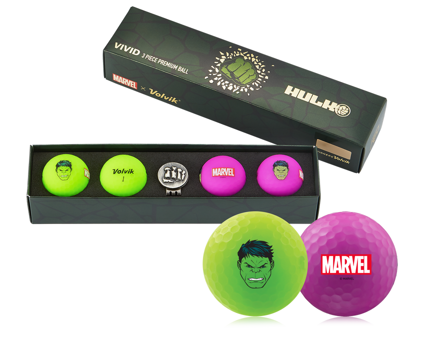Volvik Hulk 4 Ball Set
