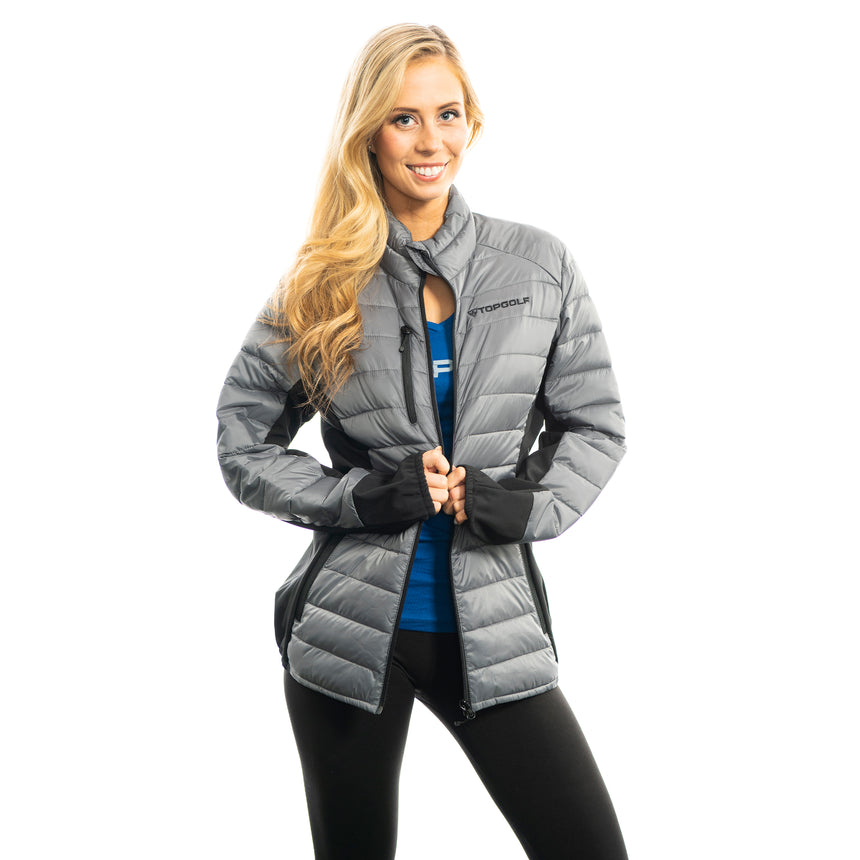 Women's Cutter and Buck Lemont Jacket, Gray