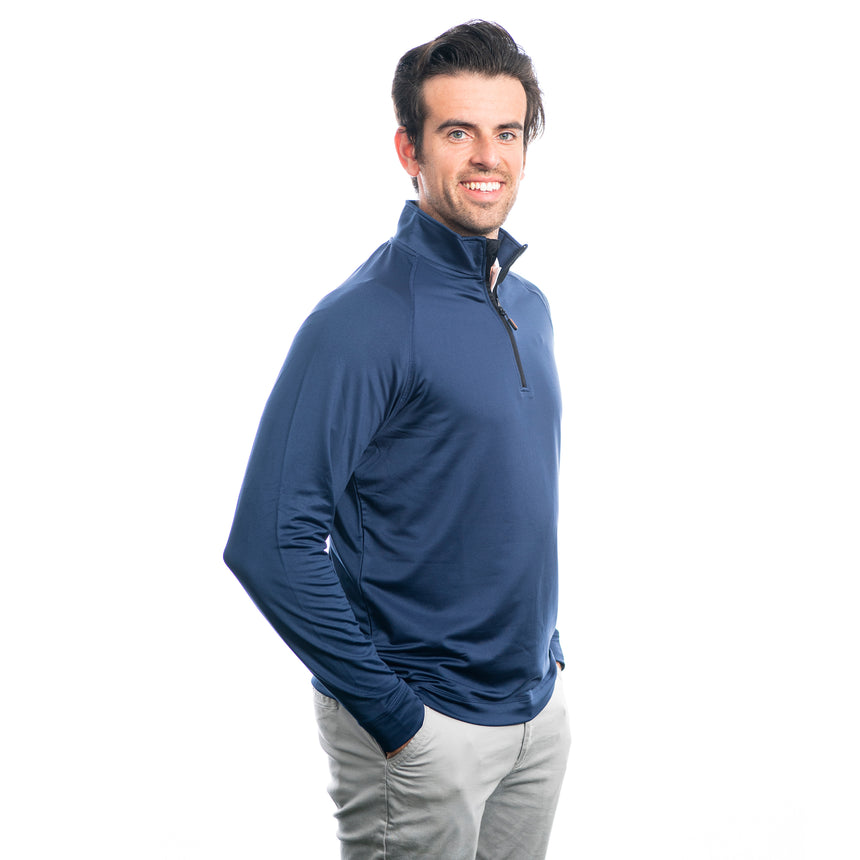 Men's Cutter and Buck Jackson Half-Zip, Navy