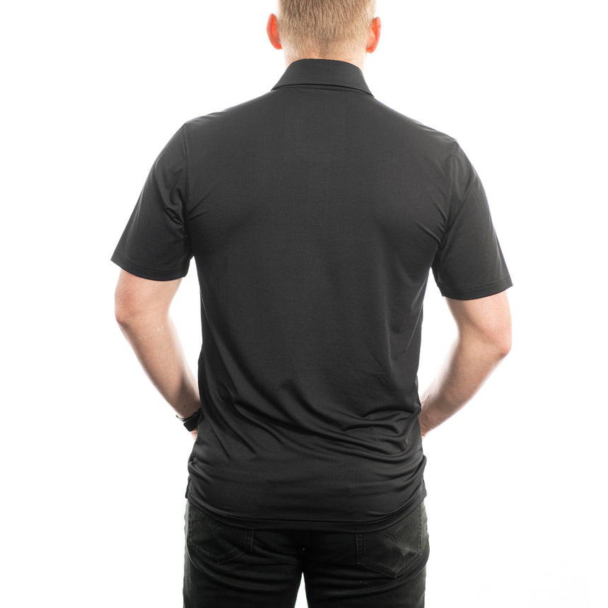 Men's Black Core Polo