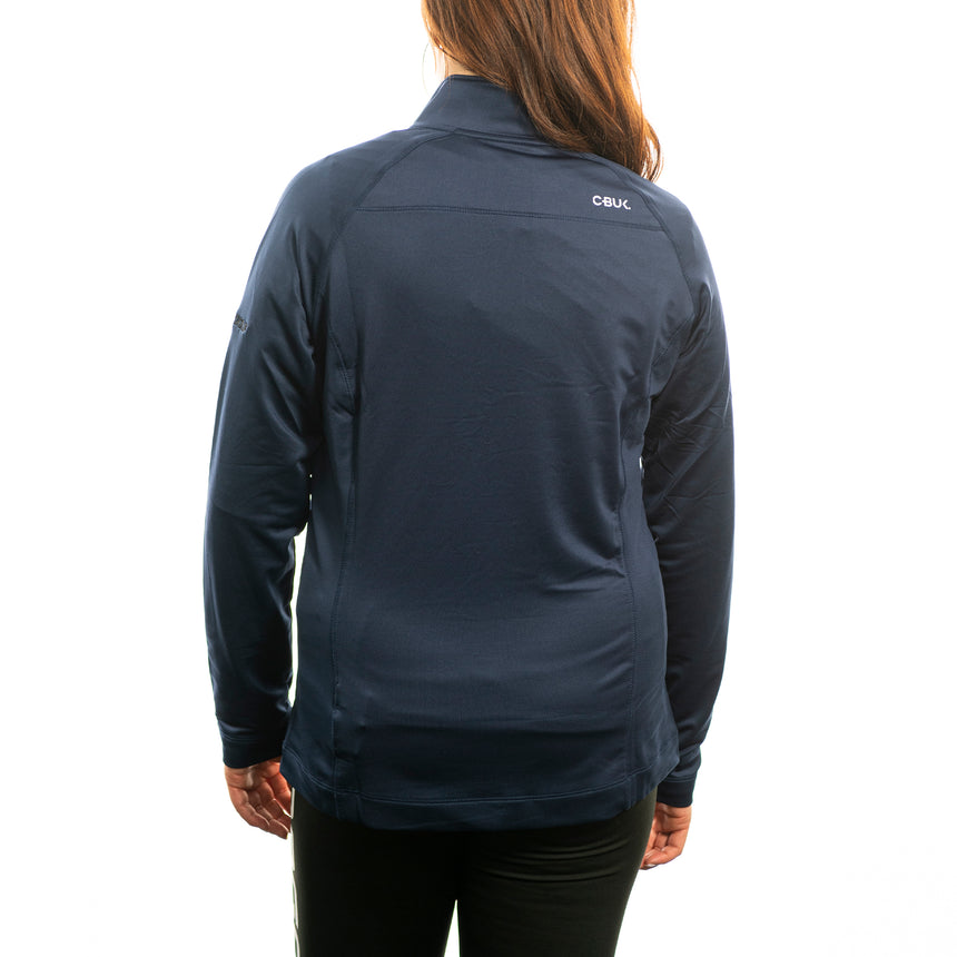 Women's Cutter and Buck Jackson Half-Zip, Navy