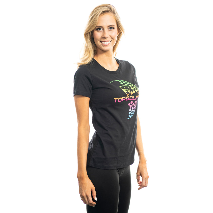Women's Neon Ball T-Shirt
