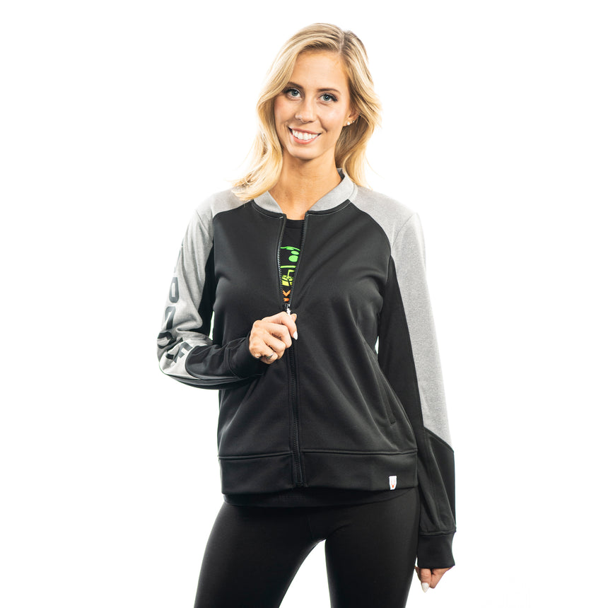 Women's Pop Fly Jacket, Black