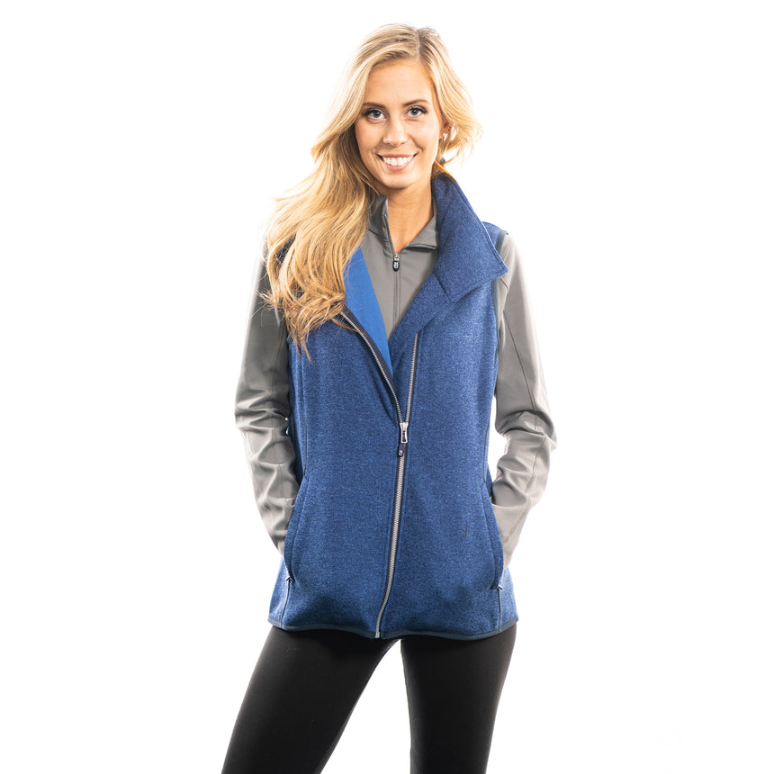 Women's Mainsail Vest, Blue