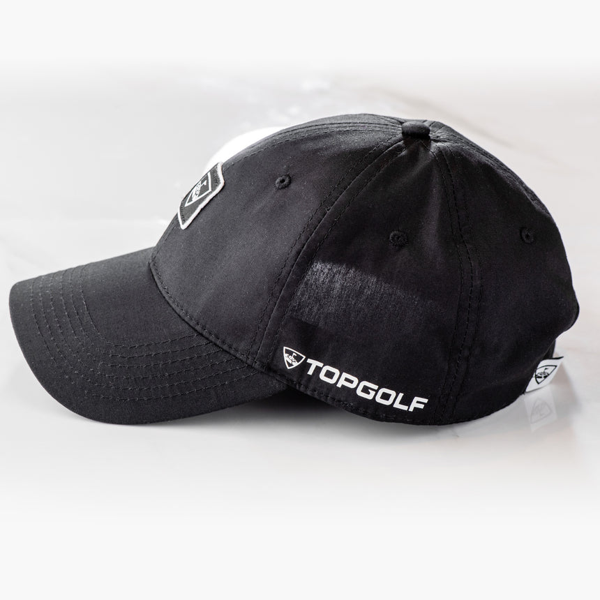 Black Clover Topgolf Poplin Black Adjustable Hat