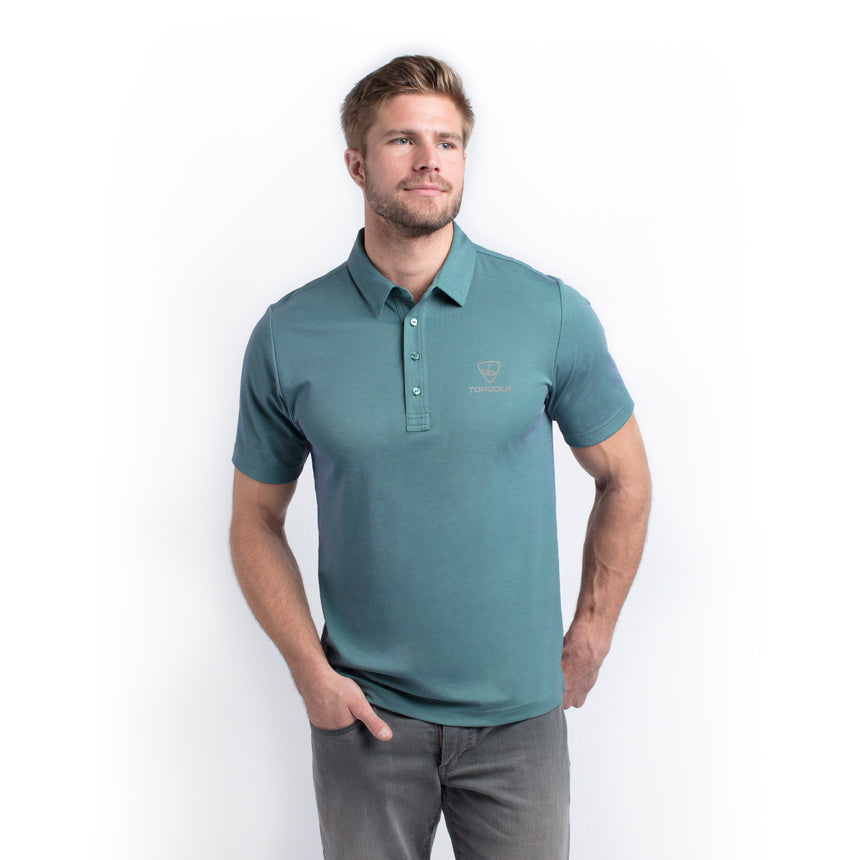 Travis Mathew The Ten Year Polo, Vintage Green