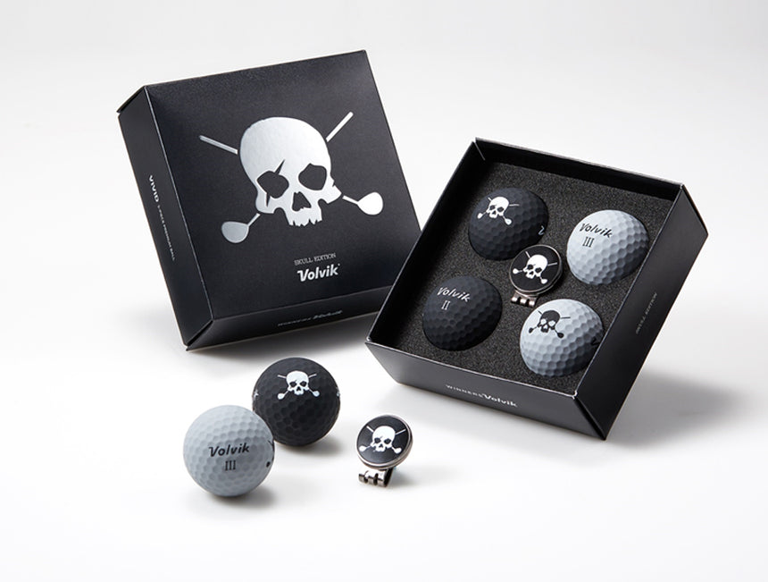 Volvik Skull 4 Ball Set