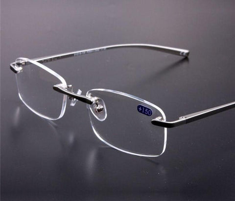 Metal Rimless Reading