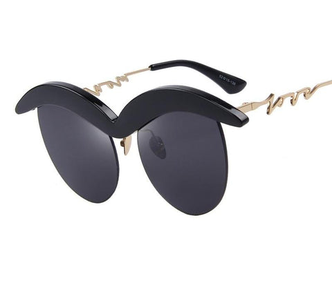 Angry Cat Eye Sunglasses
