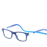 Xinfeite reading glasses New fashion magnets can hang neck HD resin lens glasses for old men and women X9