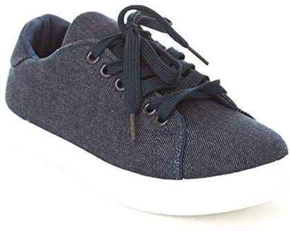 Soho Shoes Women's Lace Up Original Low Top Fashion Sneakers