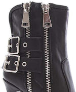 Soho Shoes Women's Zipper Stilleto Bootie