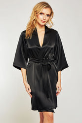 iCollection Satin Robe - 7854